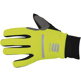 Sportful Polar Cykelhandsker, yellow fluo/black